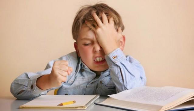 la non concentration des enfant
